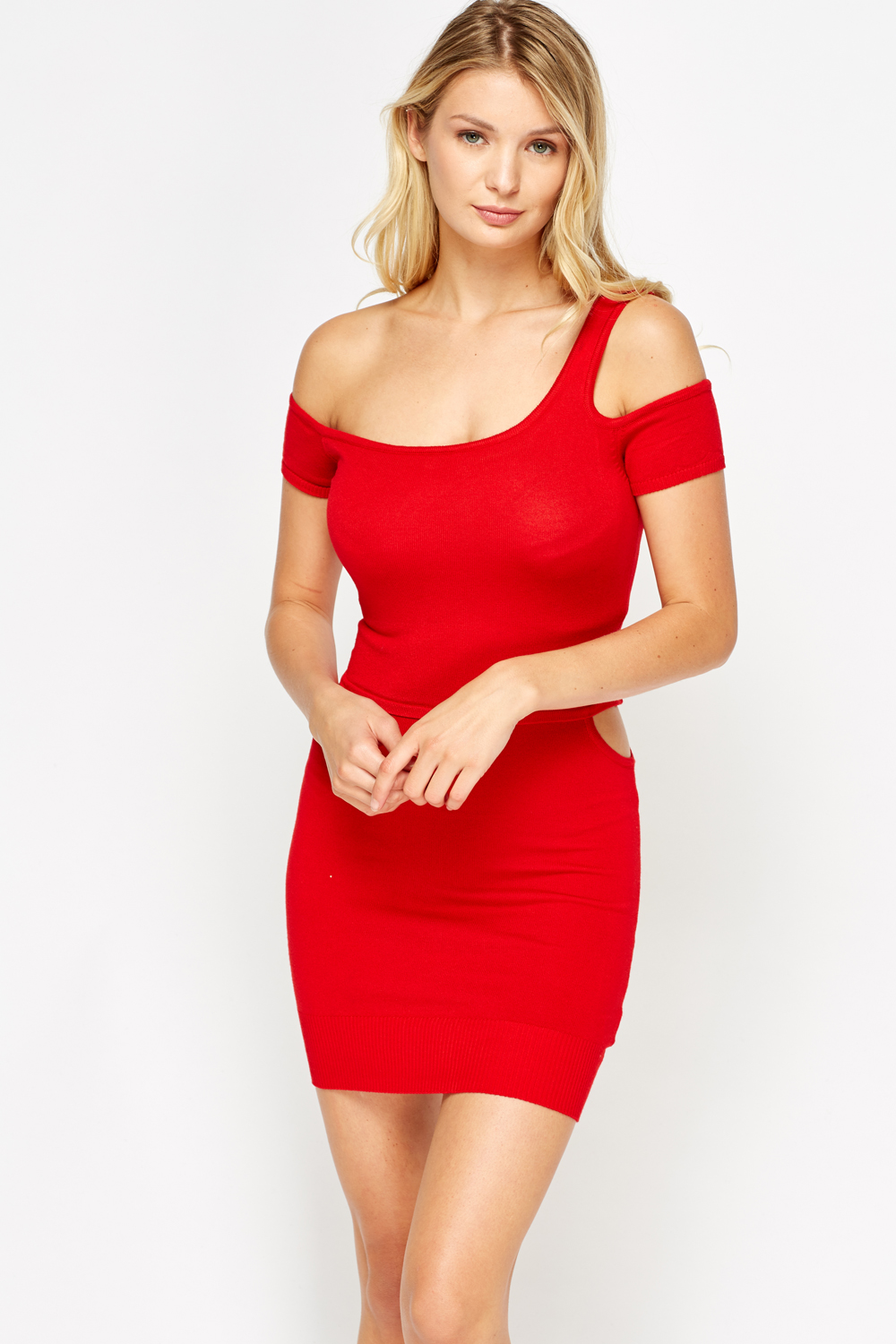 43f18aeb4489 Cut Out Bodycon Mini Dress - Just £2