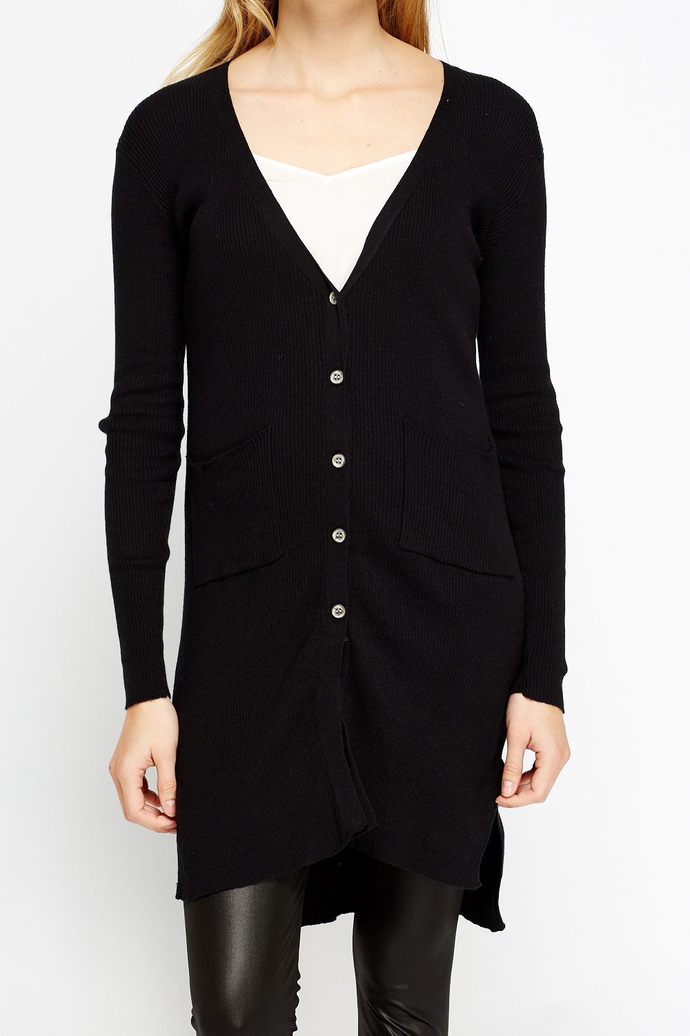 Long Button Up Cardigan - Just £5