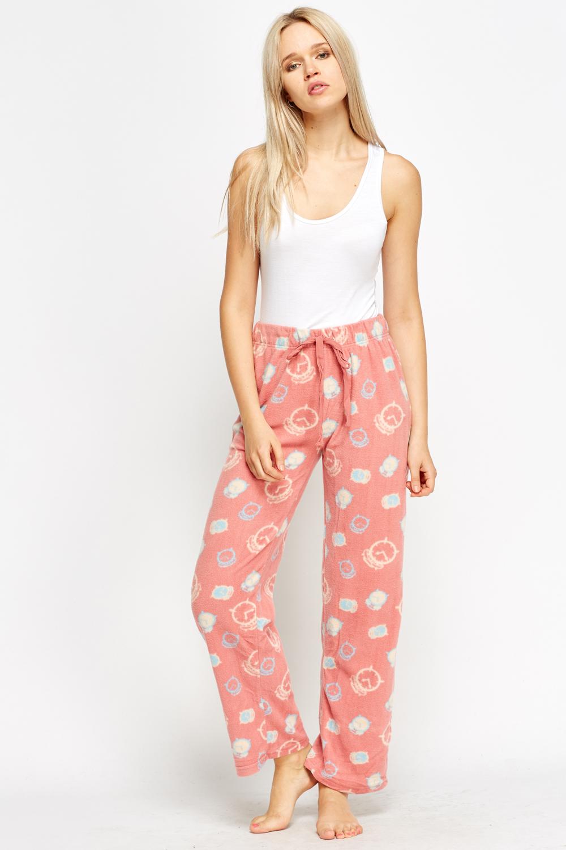 2fccc6ef9d Clock Fleece Pyjama Bottoms - Just £5