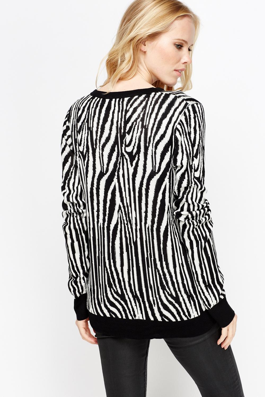 Zebra Cardigan 22