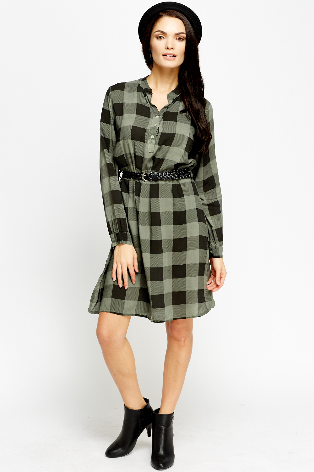 Double shirt dress design - Double Tap To Zoom