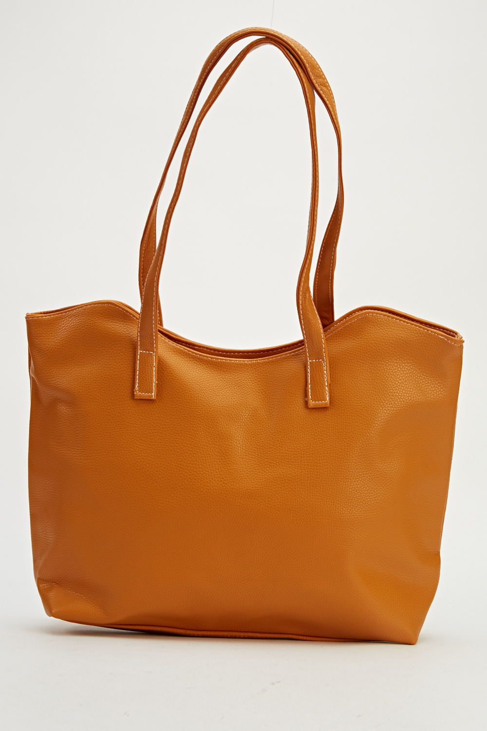 d2a416512b Faux Leather Camel Handbag - Just £5