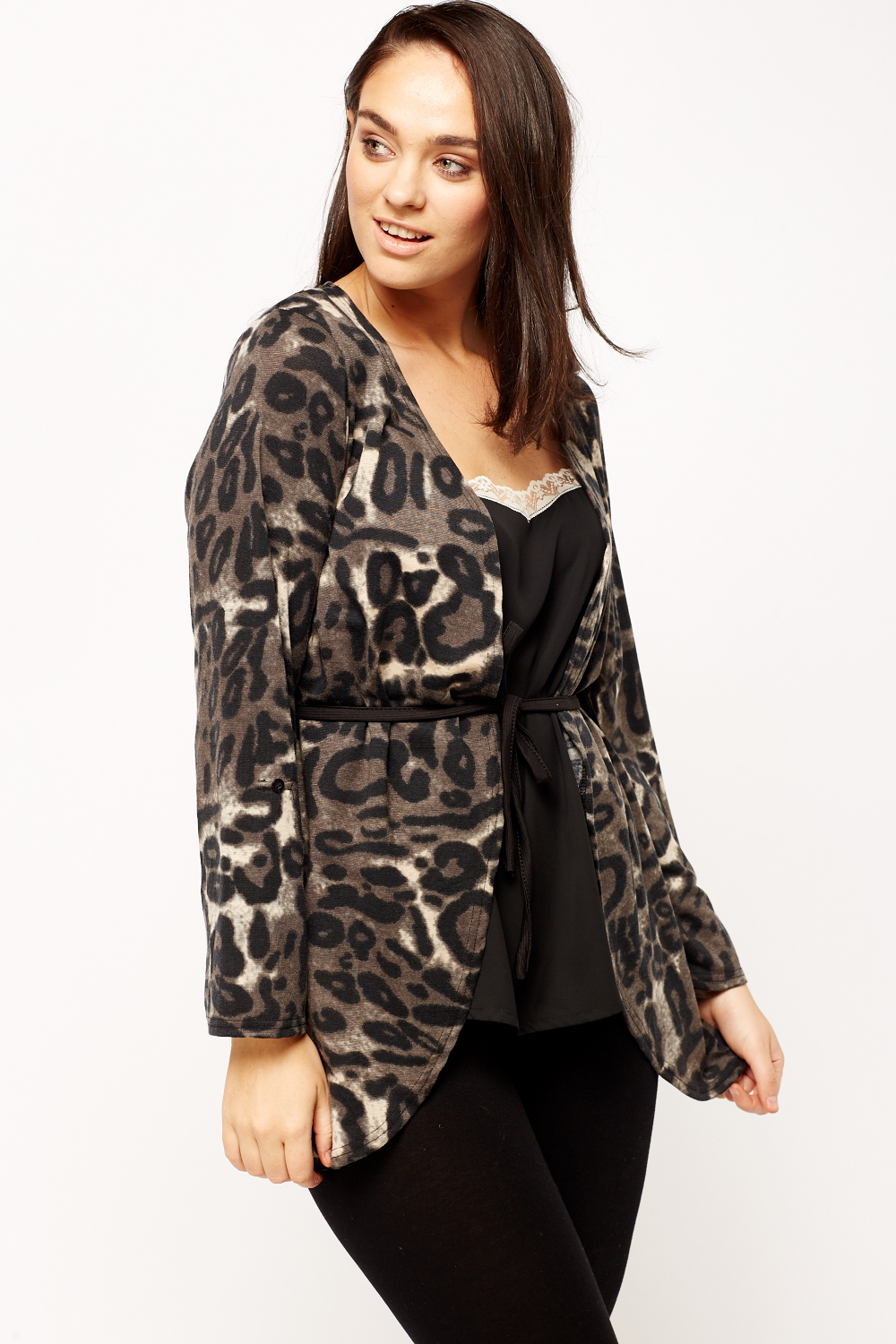 Animal Print Soft Touch Cardigan - Just £5