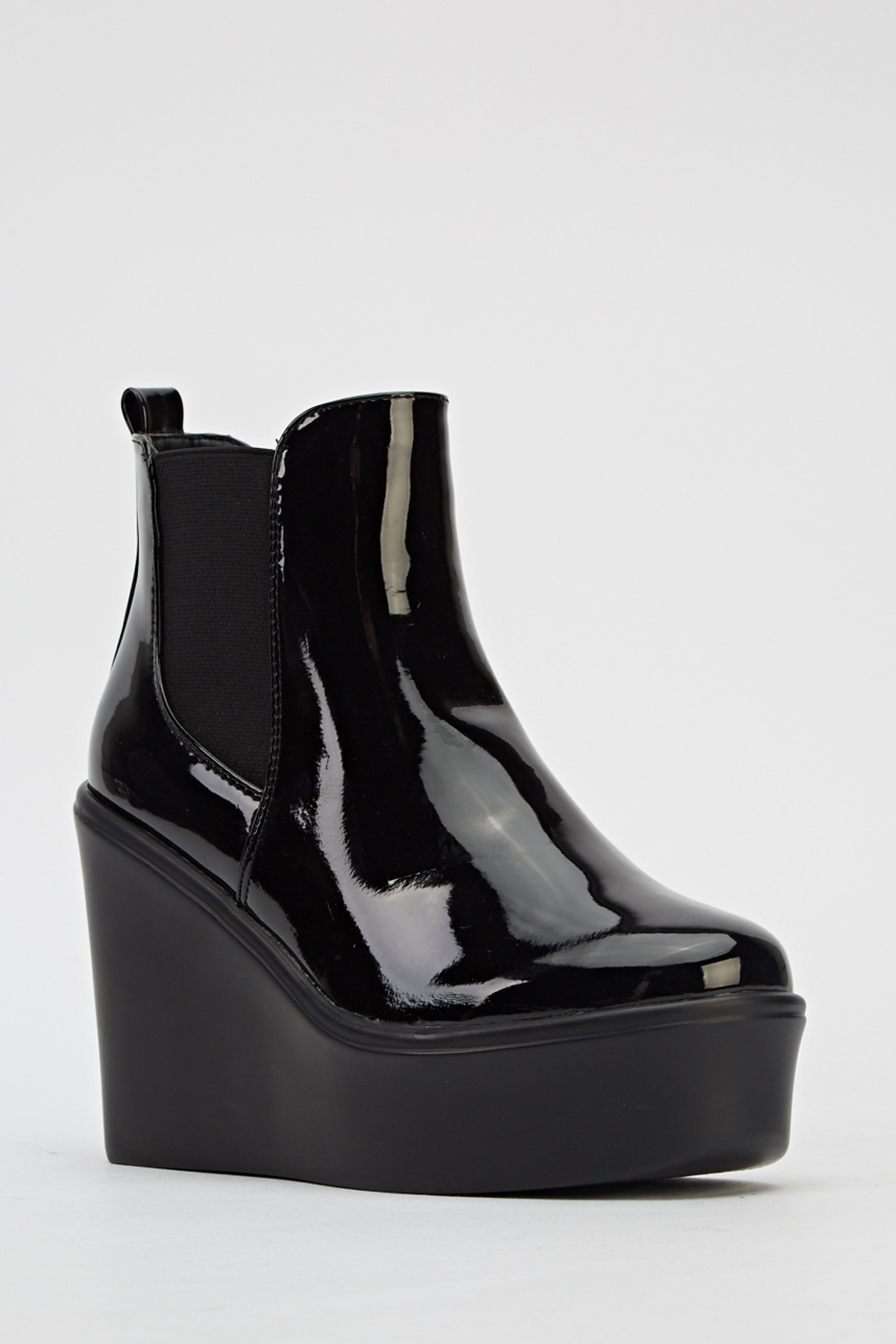 pu wedge ankle boots just 163 5