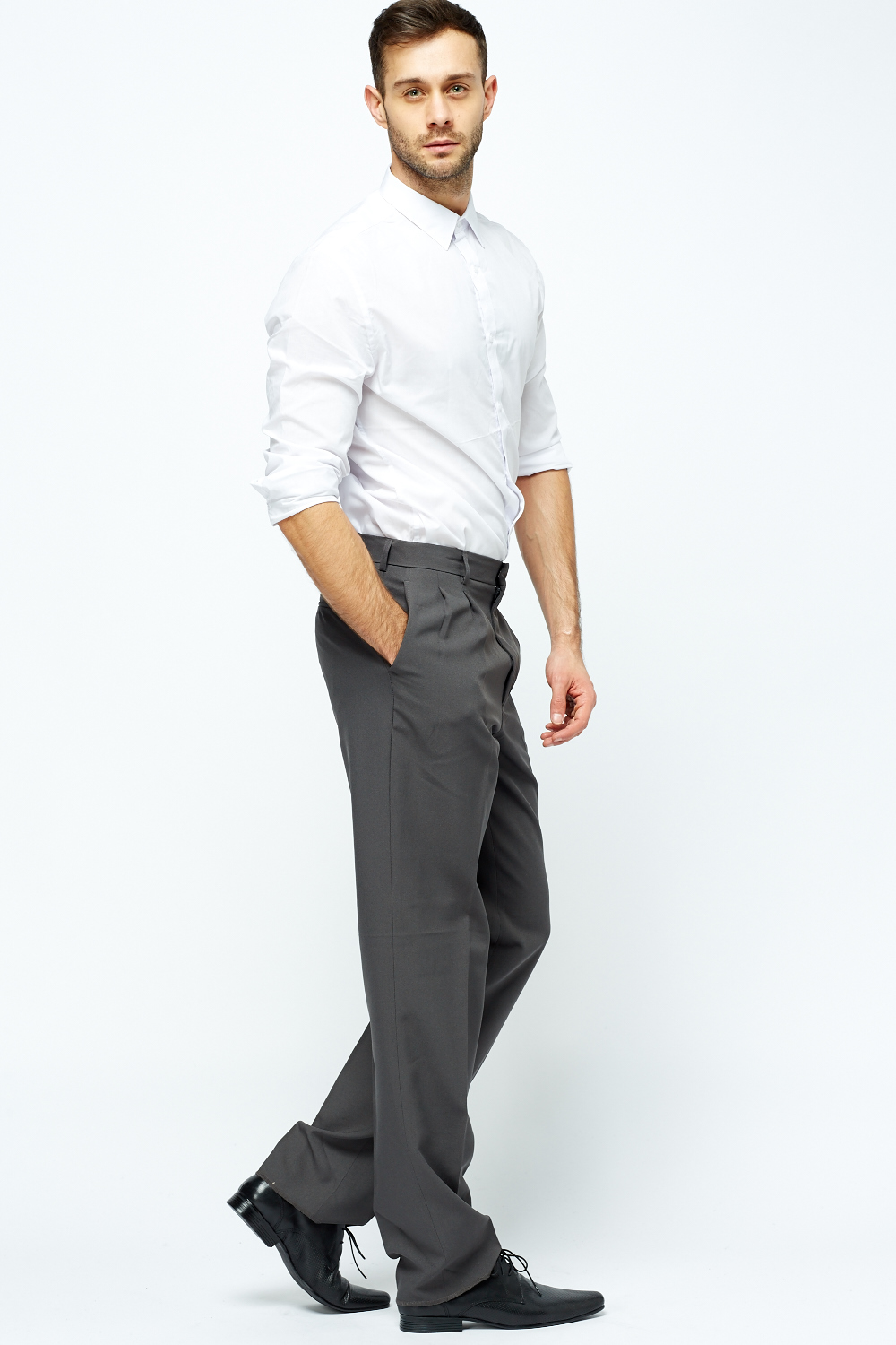 Mens Formal Tailored Trousers - Just £5