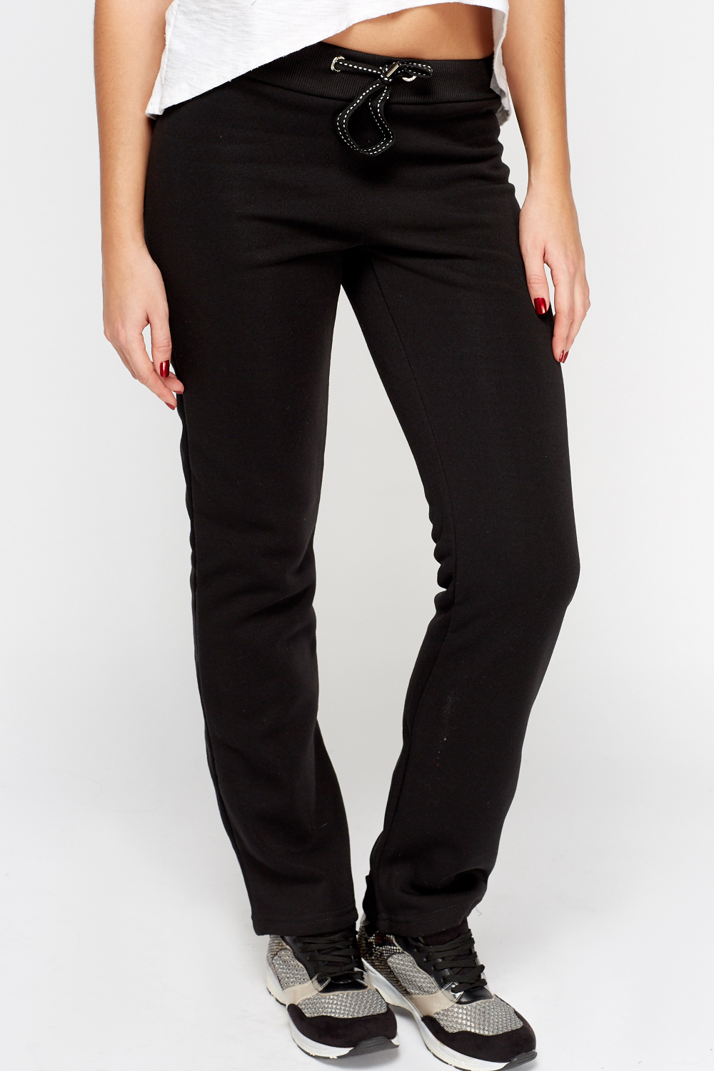 Casual Straight Leg Joggers Just 163 5