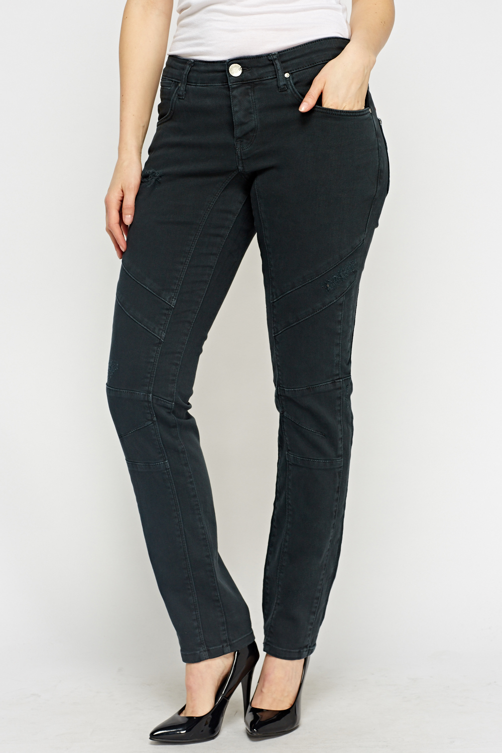 DENIM - Denim trousers Hybris eKxc44cNY6
