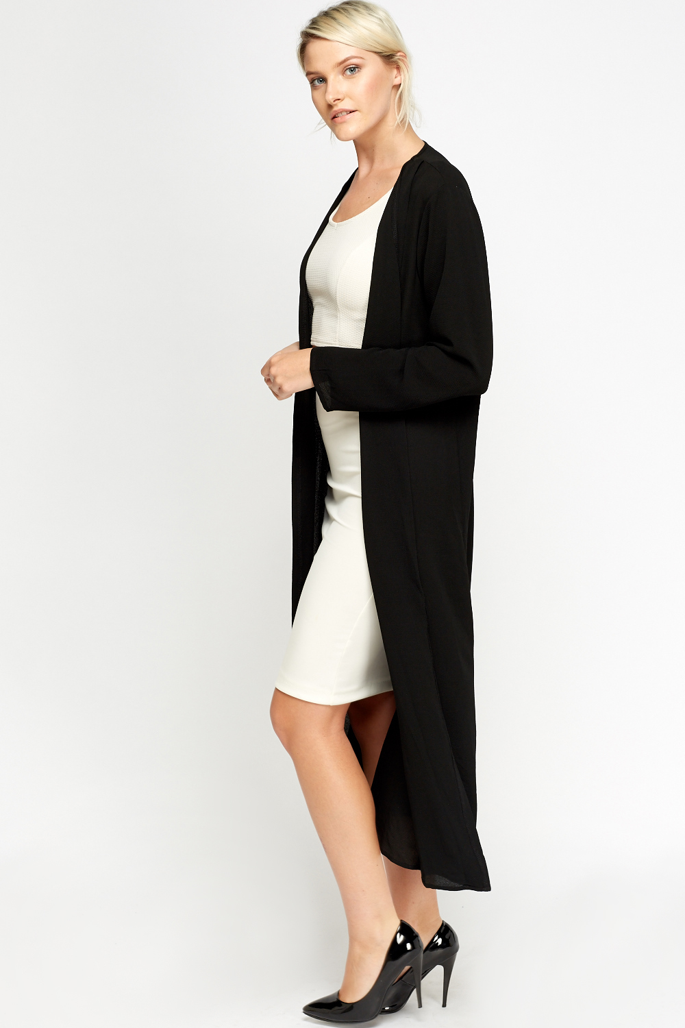 Long Line Thin Cardigan - Just £5