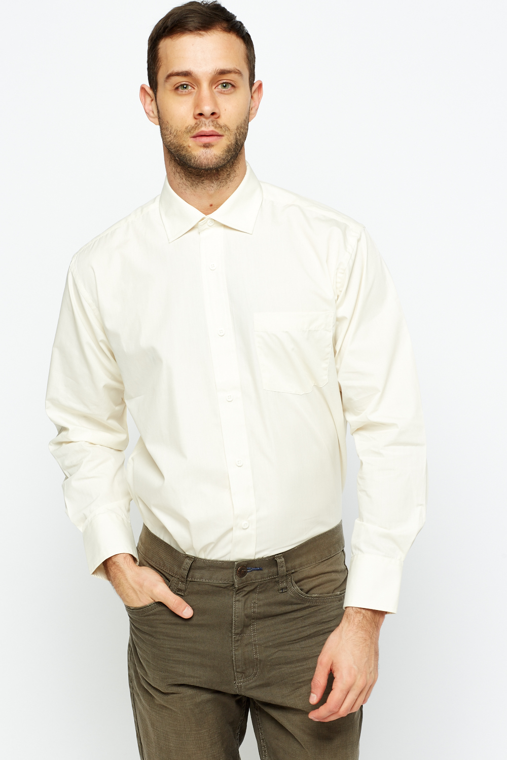 f1314db7ae5 Cream Mens Shirt - Just £5