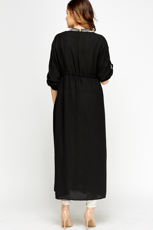 Slit Side Long Sheer Cardigan - Just £5