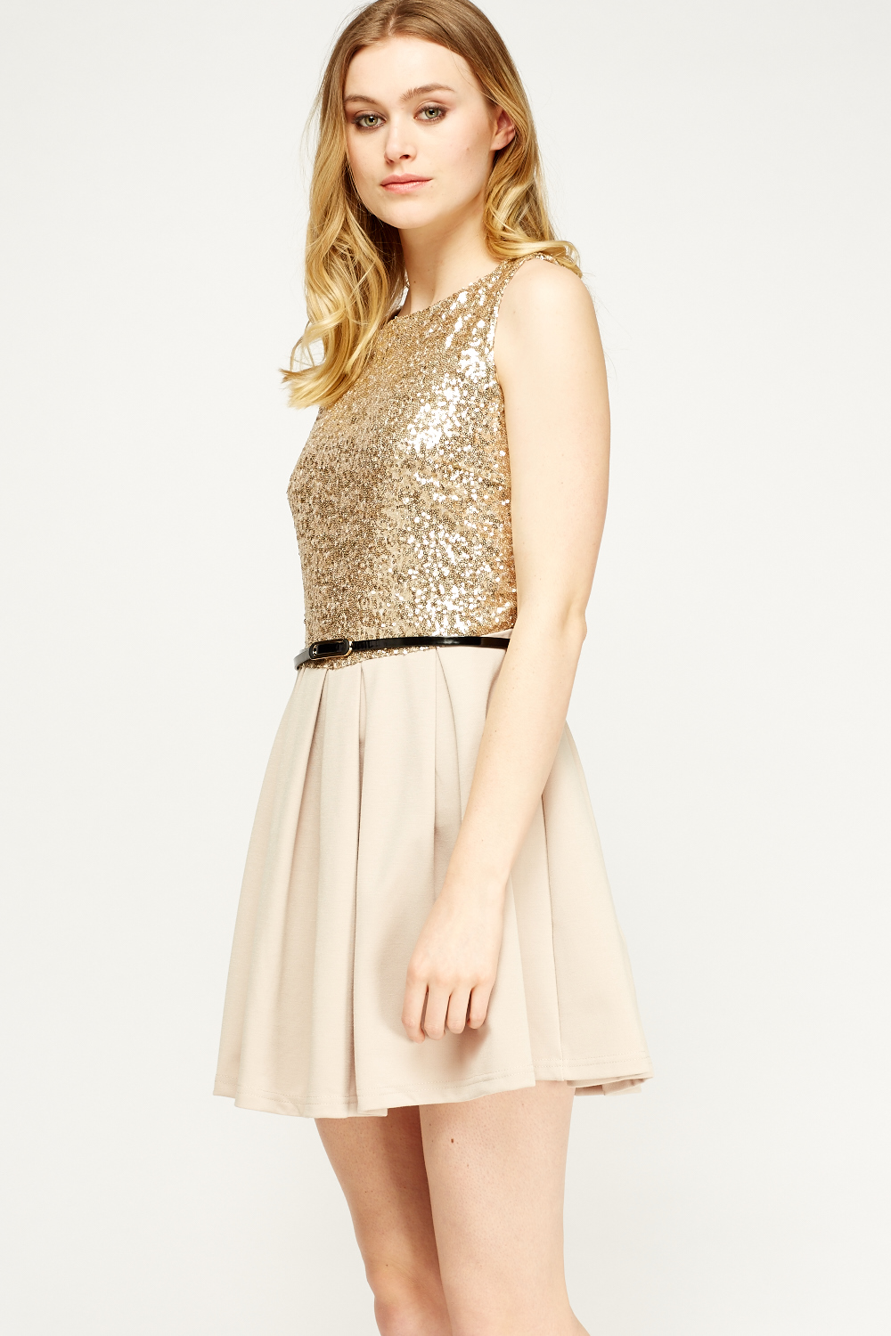 ad07d228 Sequin Bodice Skater Dress - Just £5
