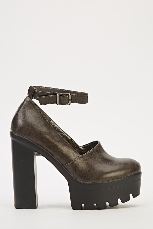 ankle platform shoes 3 colours just 163 5