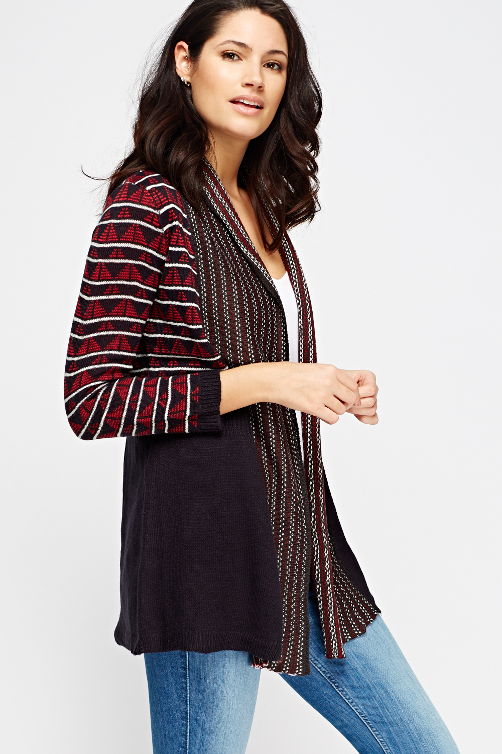 Aztec Print Sweaters. Clothing. Women. Womens Sweaters. Aztec Print Sweaters. Showing 48 of results that match your query. Search Product Result. Product - Premium Geometric Aztec Print Open Print Kimono Vest Cardigan Poncho Sweater Top. Product Image. Price $ Product Title.