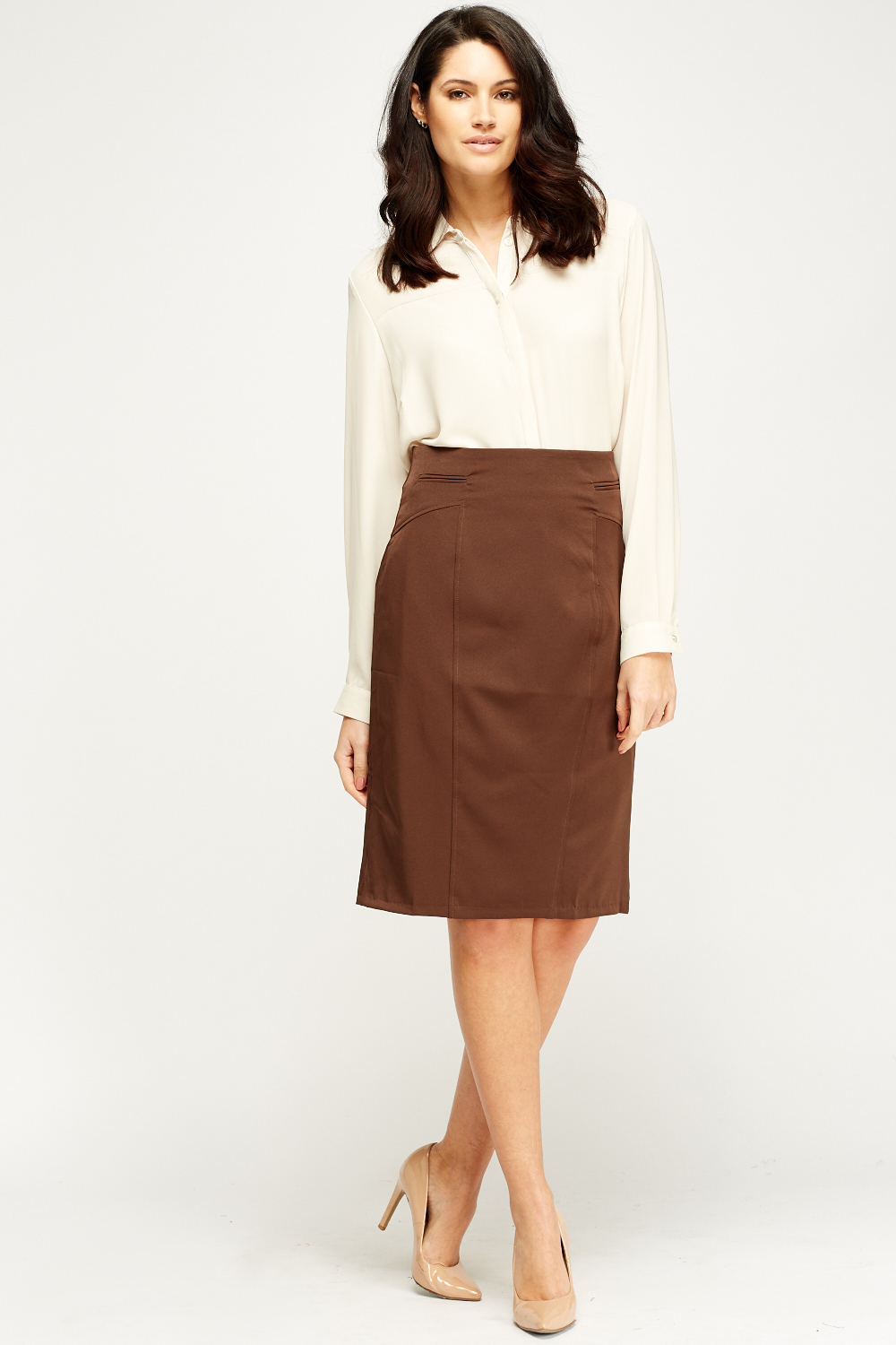 high waisted pencil skirt just 1635