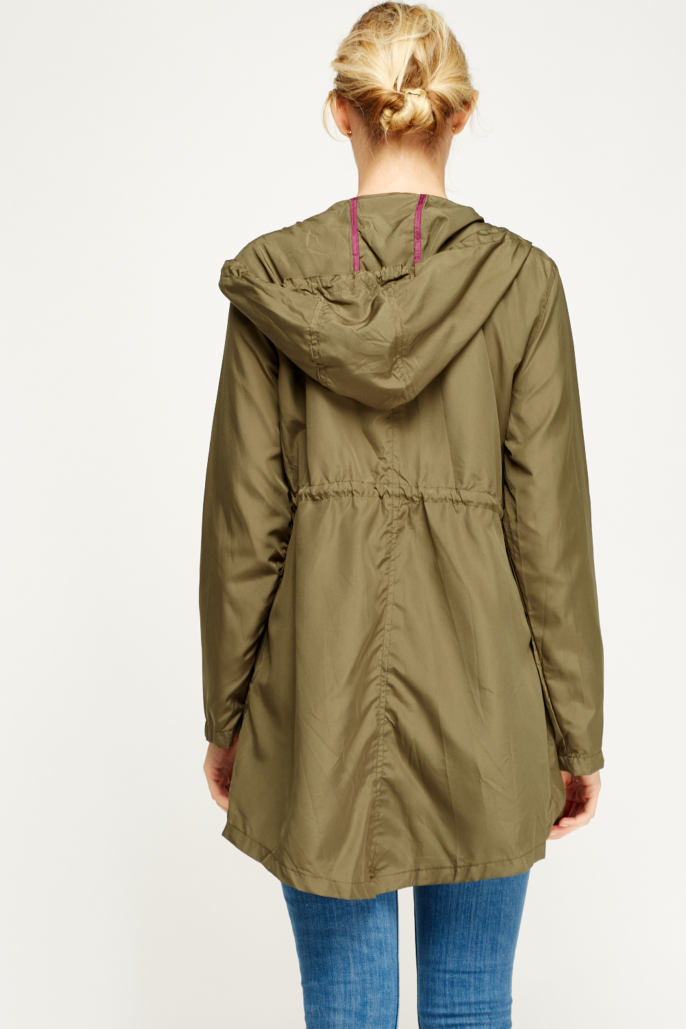 Thin Parka Jacket