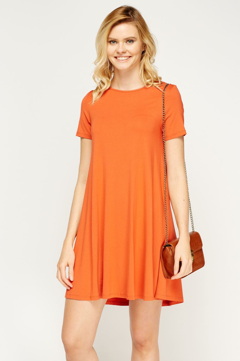 sc 1 st  Everything5Pounds & Orange Tent Dress - Just £5