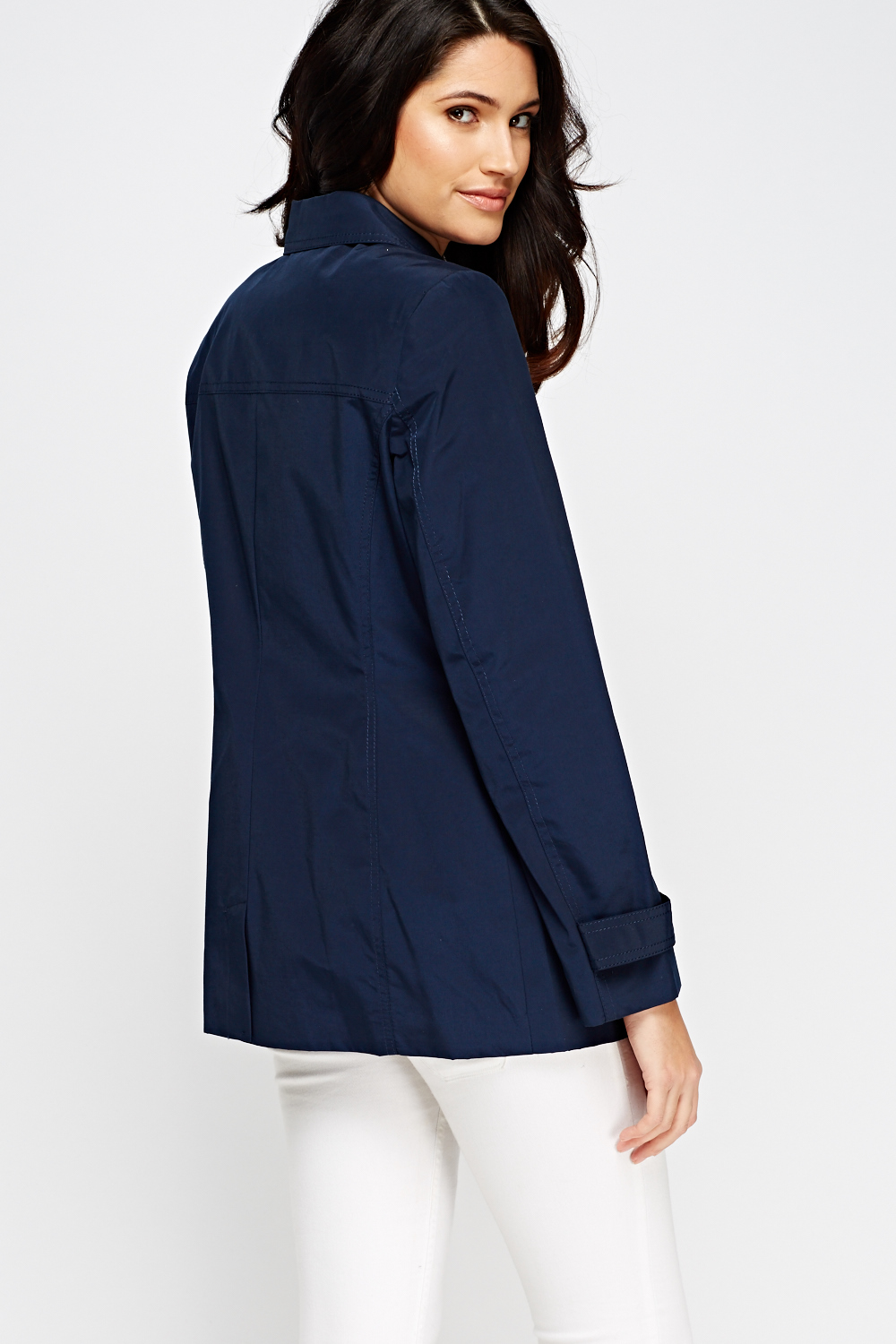 Casual Short Trench Coat Just 163 5