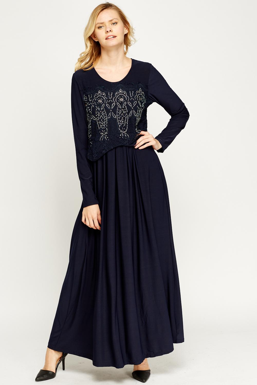 c1e800dadd42 A Line Maxi Evening Dresses - PostParc