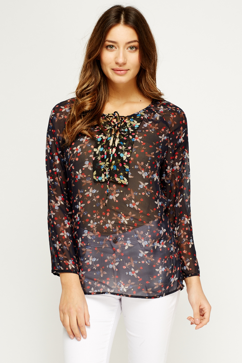 Shop for BLACK 2XL Floral Print Long Sleeve Blouse online at $ and discover fashion at cheswick-stand.tk Cheapest and Latest women & men fashion site including categories such as dresses, shoes, bags and jewelry with free shipping all over the world.