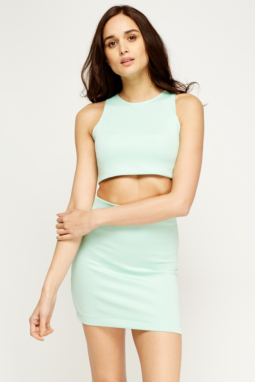 Crop Top And Skirt Set - Just £5