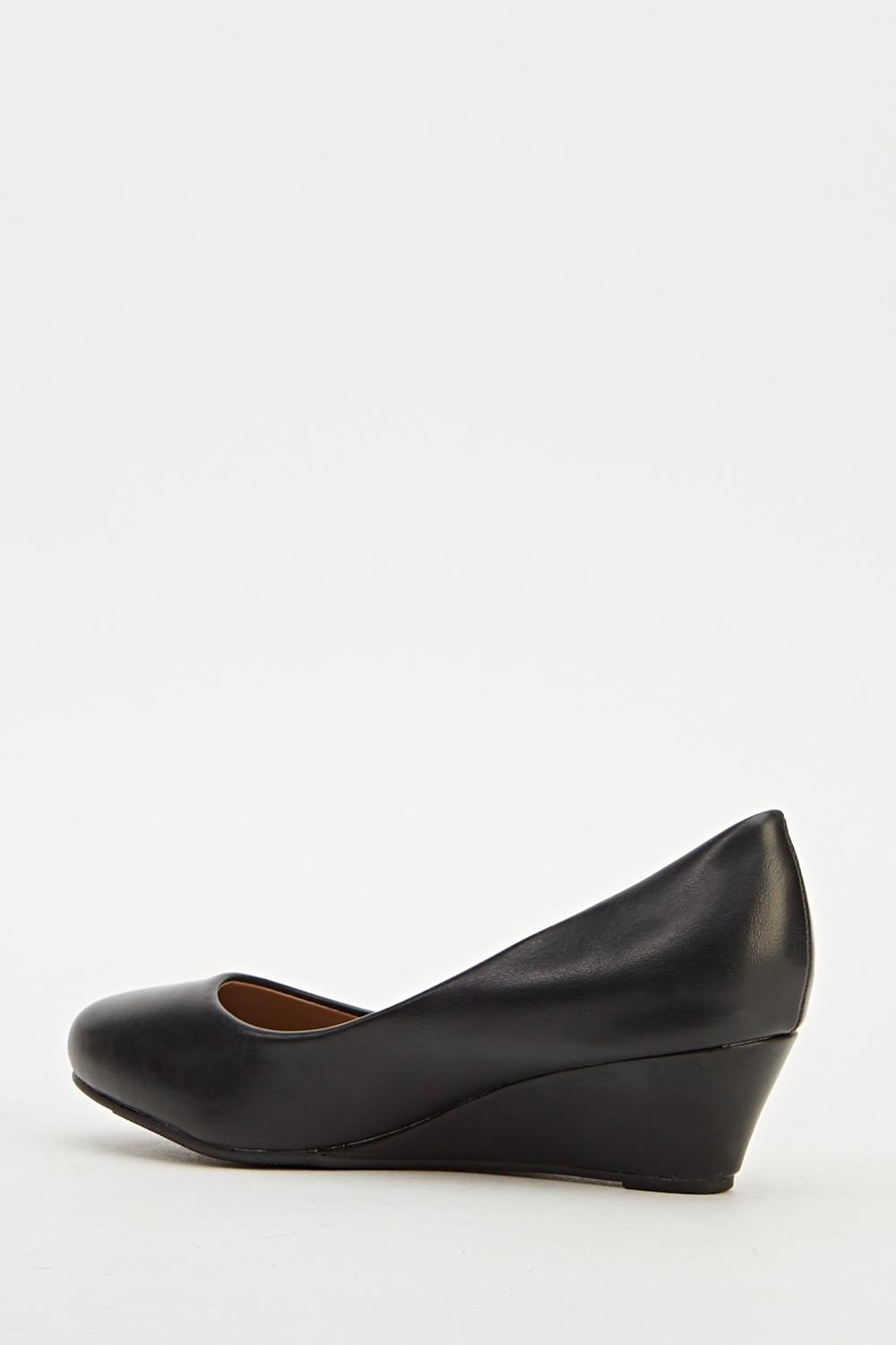 faux leather wedge shoes just 163 5