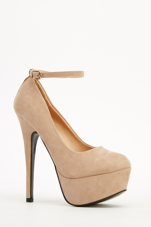 5744ebc63c0b Platform Ankle Strap Heels - Just £5