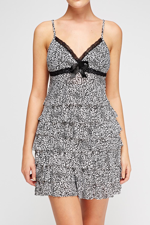 0d14a8e98f White leopard print dress - photo 7