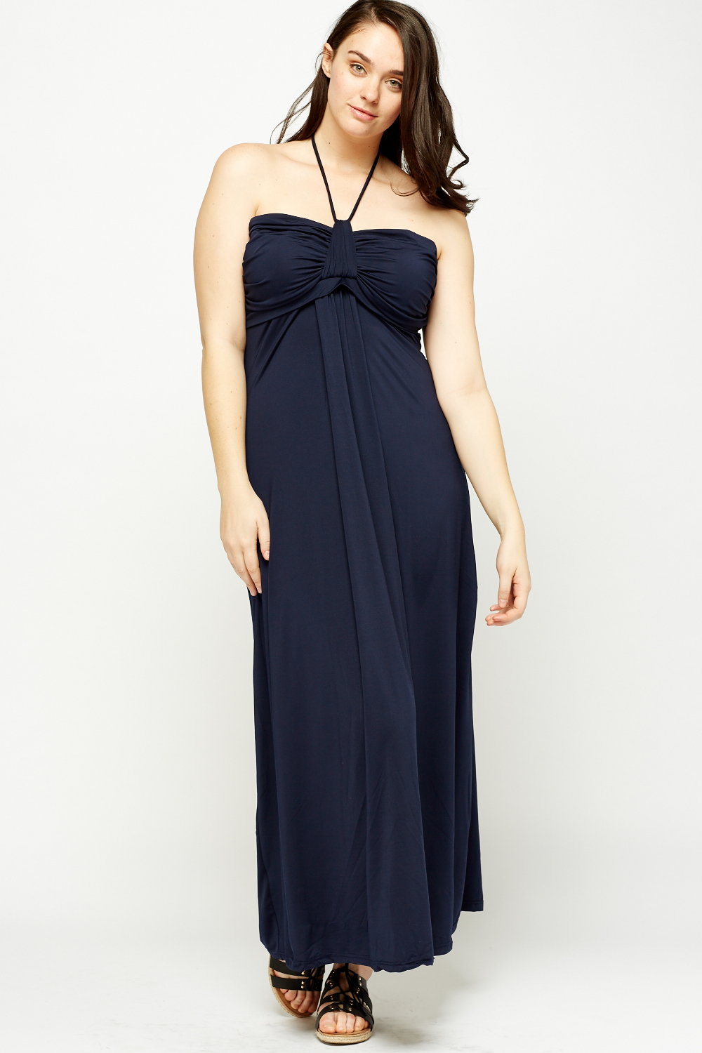 500e032be459 Off Shoulder Coffee Maxi Dress - Just £5