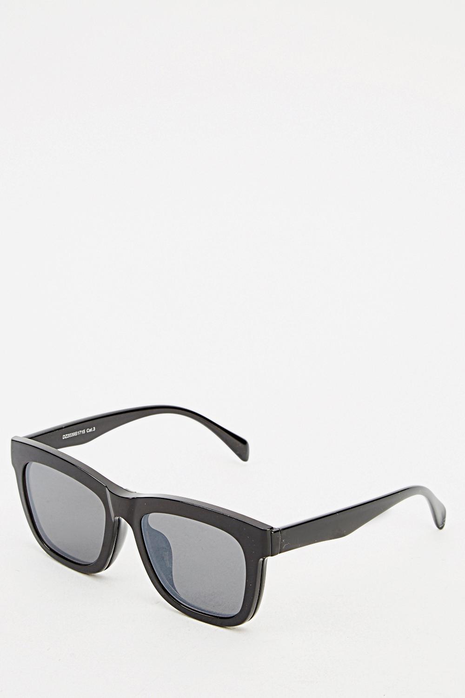 black wayfarer sunglasses just 163 5