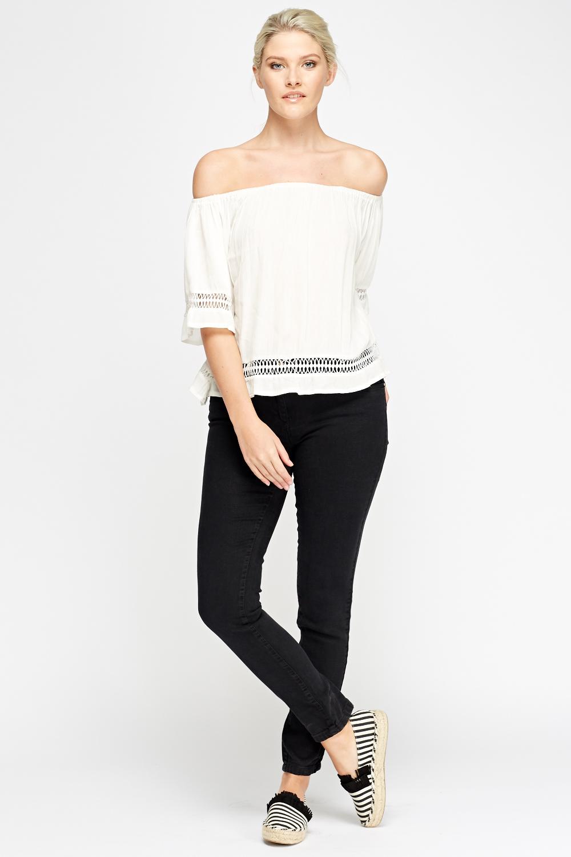 slim fit regular waist jeans black or khaki just 5. Black Bedroom Furniture Sets. Home Design Ideas