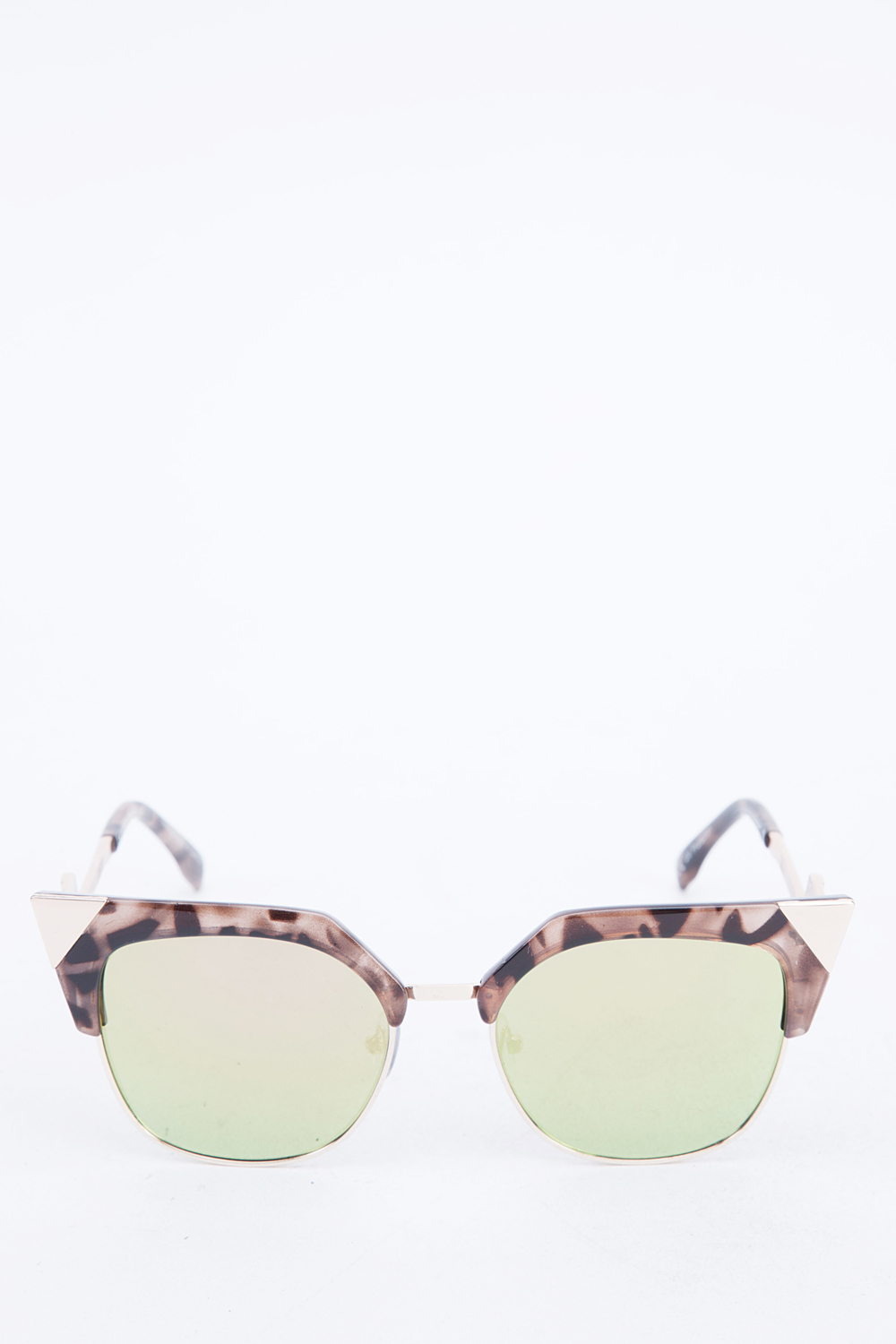 Half Frame Square Glasses : Printed Half Frame Square Sunglasses - Just ?5