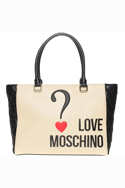 love moschino bag limited edition discount designer stock. Black Bedroom Furniture Sets. Home Design Ideas