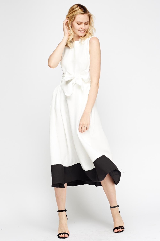 d6691aff2fc2 Mono Midi Skater Dress - Just £5