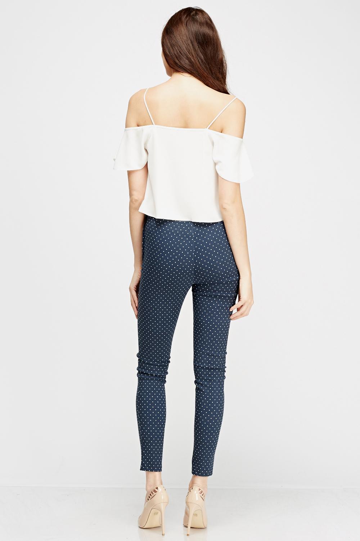 Target / Women / polka dot pants (5) Women's Plus Size Polka Dot Wide Leg Smoked High Waist Culottes - Who What Wear™ Navy. Who What Wear. $ Was $ Choose options