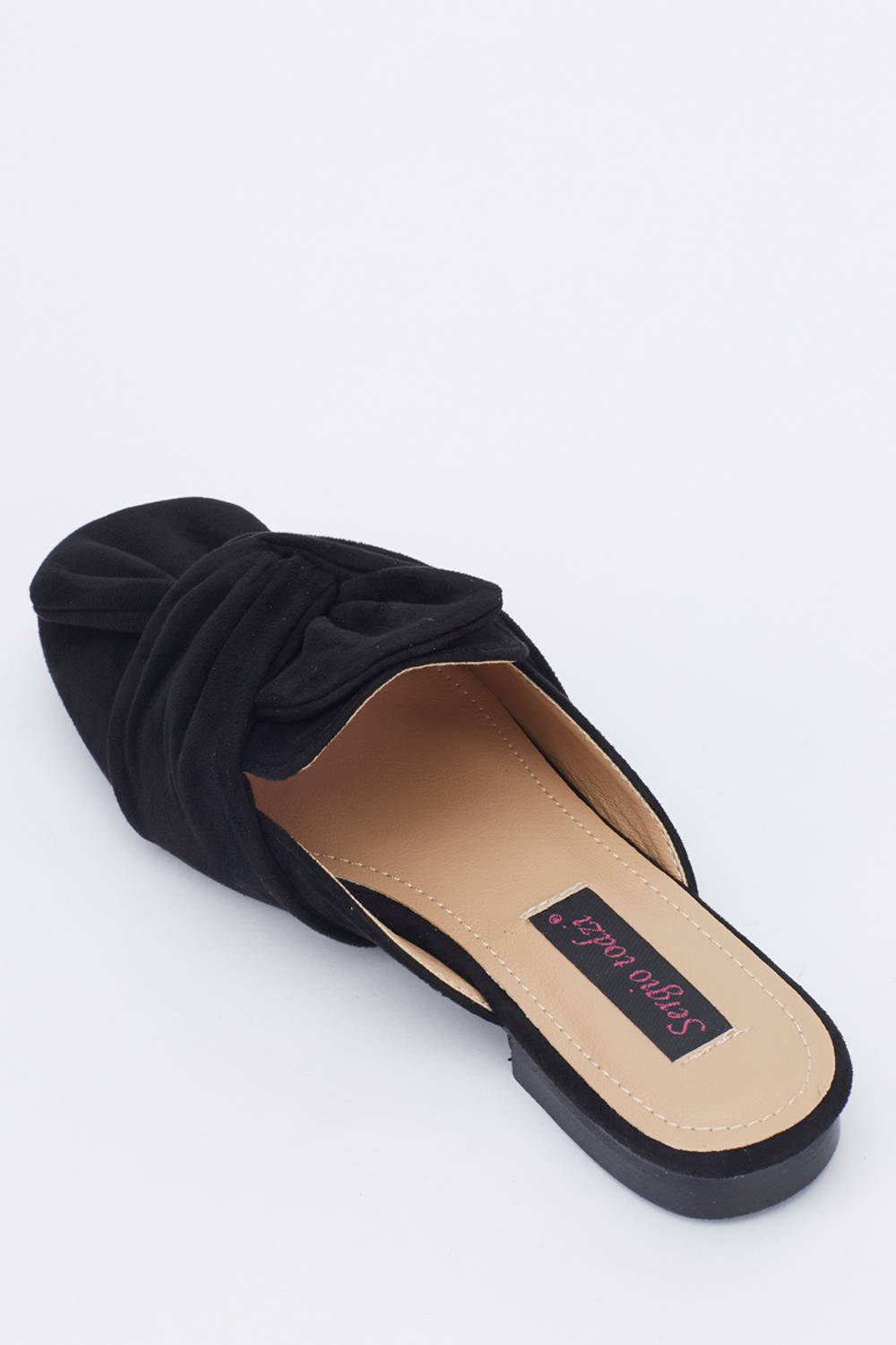 Knot Front Slip On Shoes - Just £6