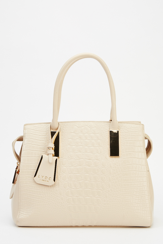 Lydc London Mock Croc Handbag Limited Edition Designer Stock