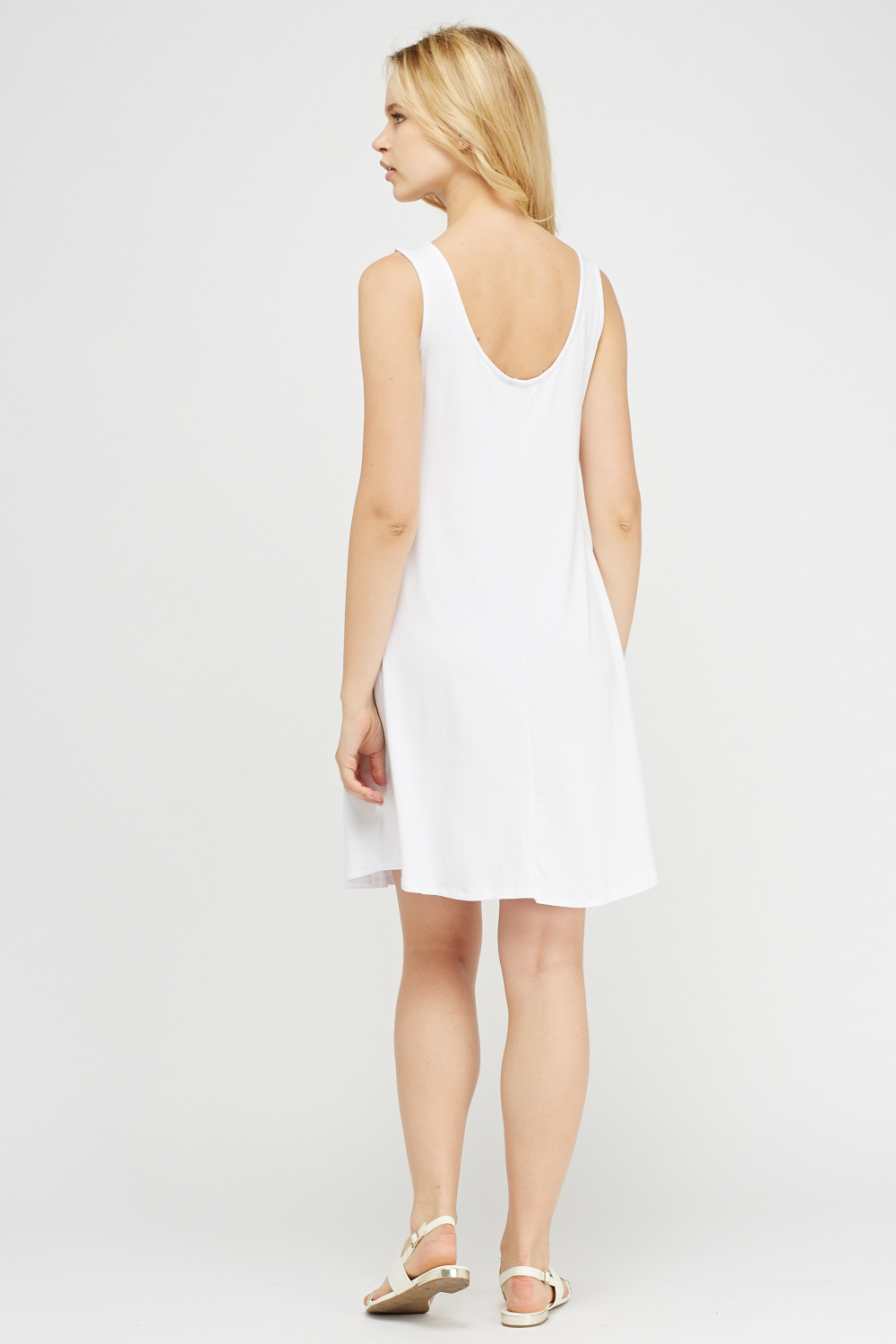 White Tent Dress. Click on the image to zoom & White Tent Dress - Just £5
