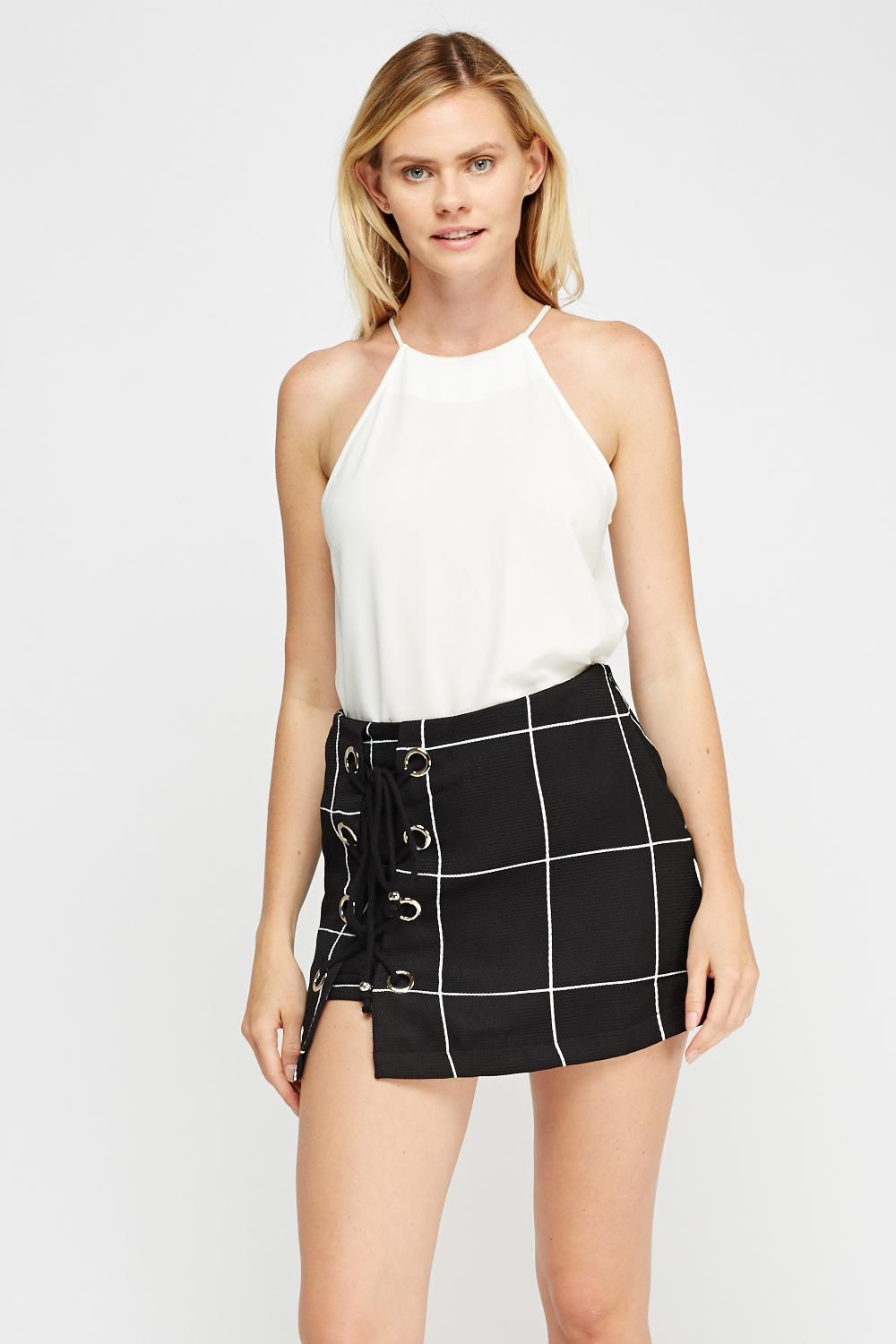 Find great deals on eBay for black lace up mini skirt. Shop with confidence.