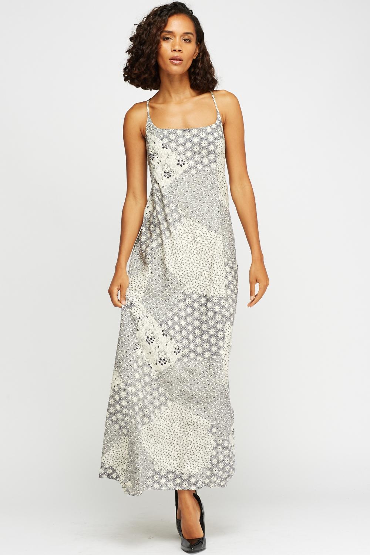 b05672c9ca7 Patchwork Print Maxi Dress - Just £5