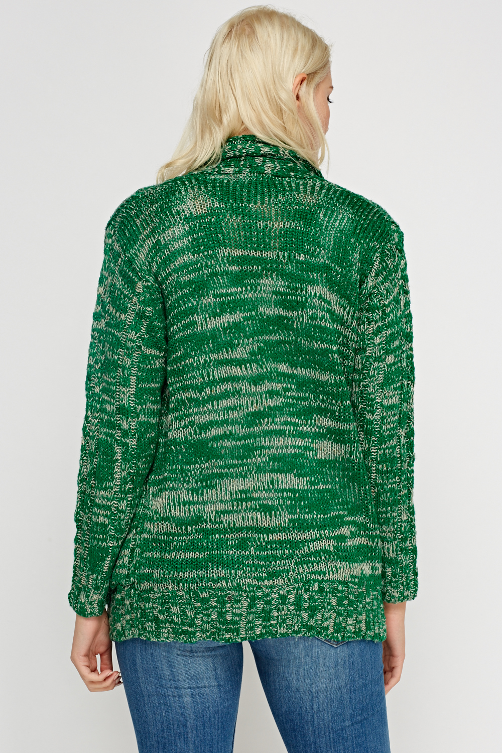 Loose Cable Knit Cardigan - Just £5