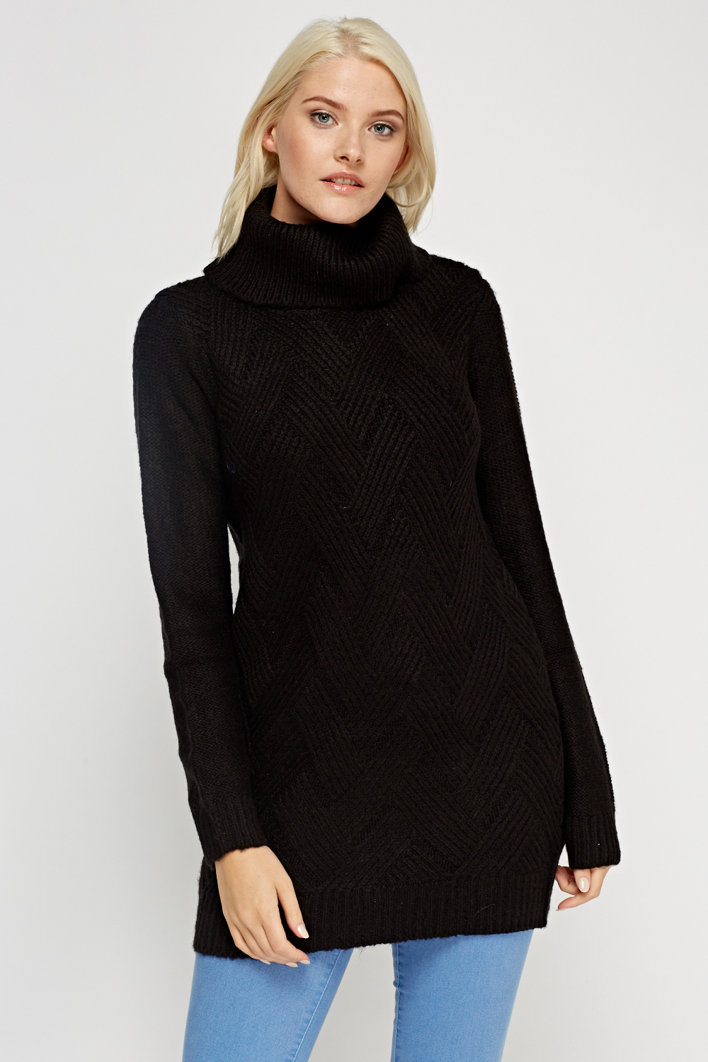 0a76358f9 Cable Knit Roll Neck Jumper - Just £5