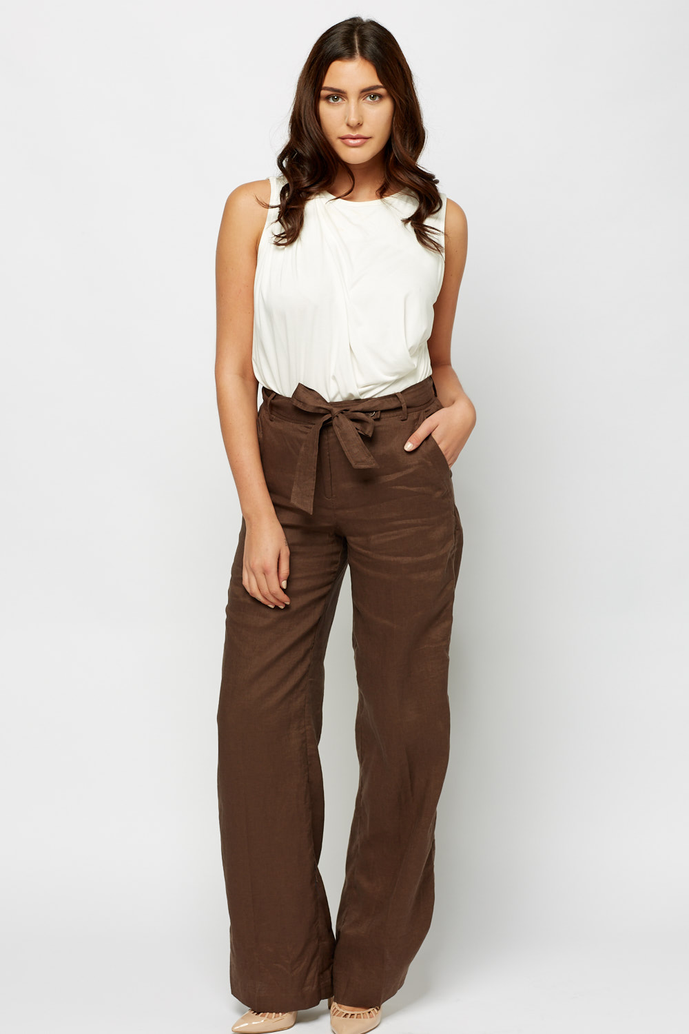 6a870ad0ca Wide Leg Trousers - Just £5