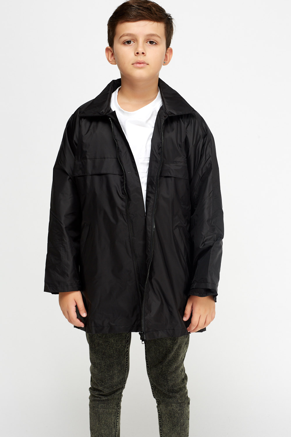 Casual Waterproof Jacket - 9 Colours - Just £5