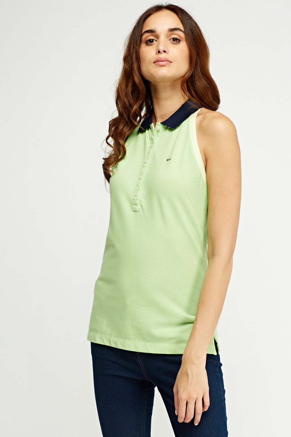d9c7639bd5ac7c Lacoste Sleeveless Polo - Limited edition
