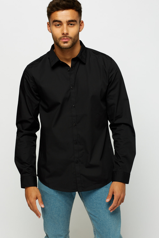 0c793f7c6 Black Button Up Mens Shirts - BCD Tofu House