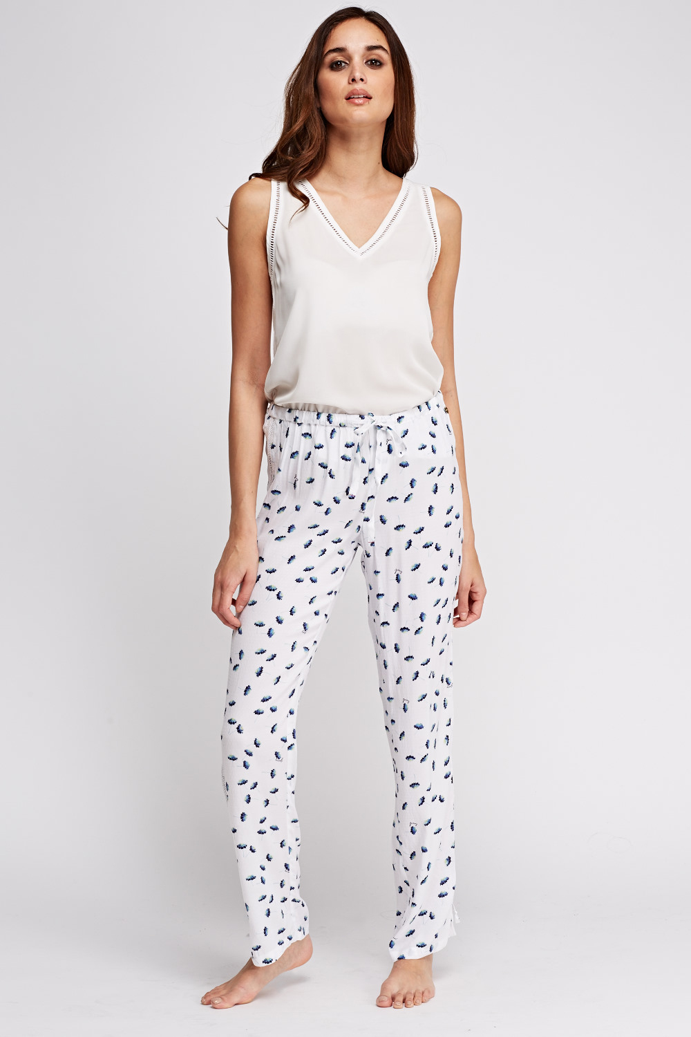 681e1c8b0d Juicy Couture Flower Printed Pyjama Bottoms - Limited edition ...