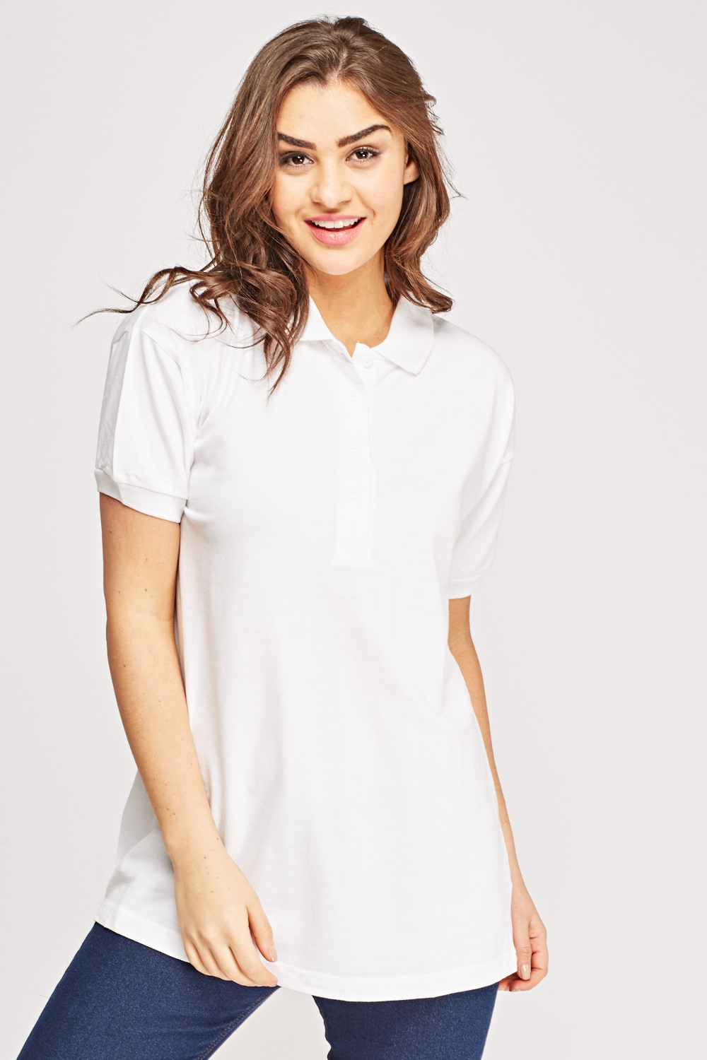 Oversized Polo T Shirt Just 163 5