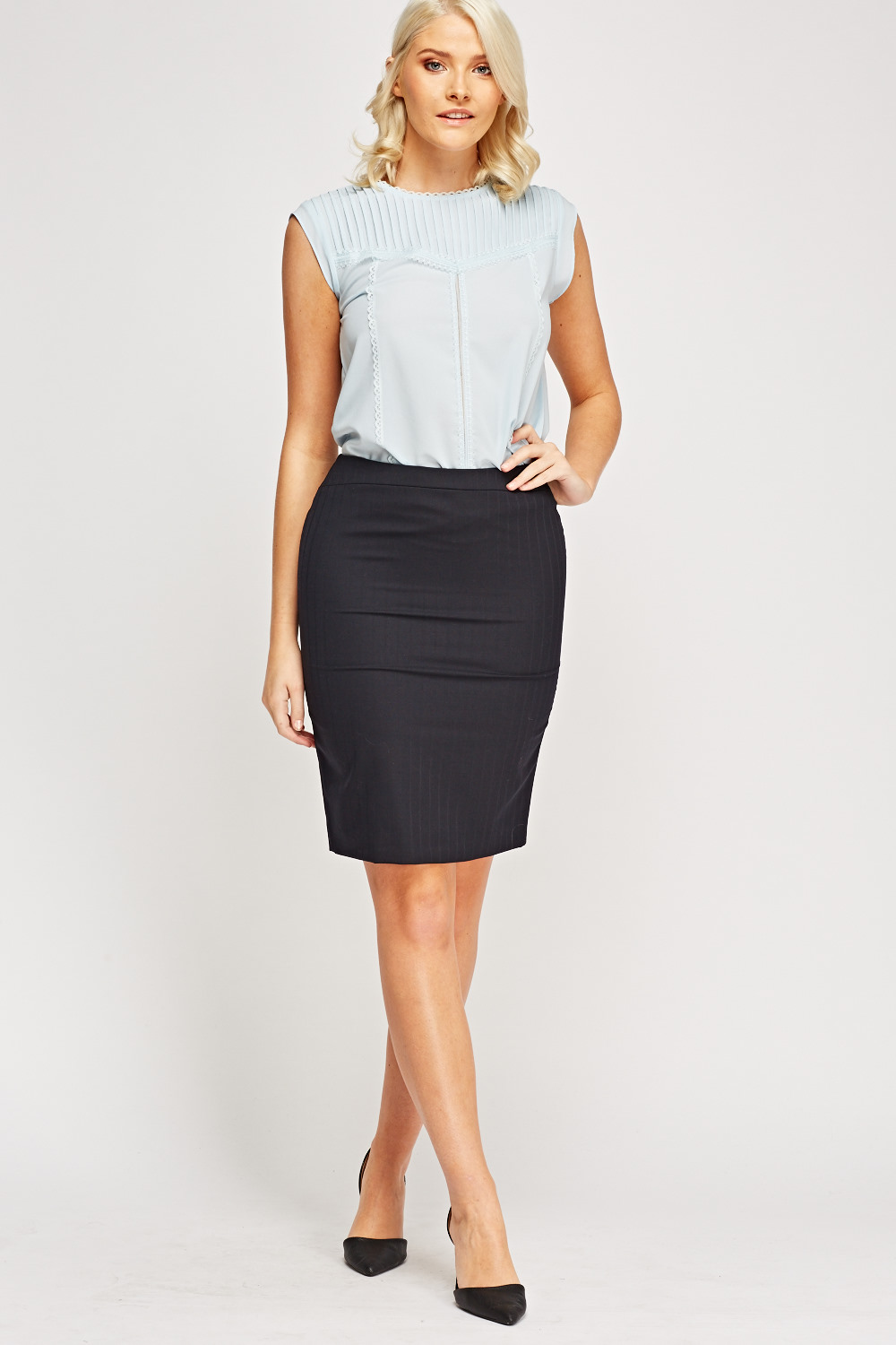 Formal Navy Formal Skirt Just 163 5