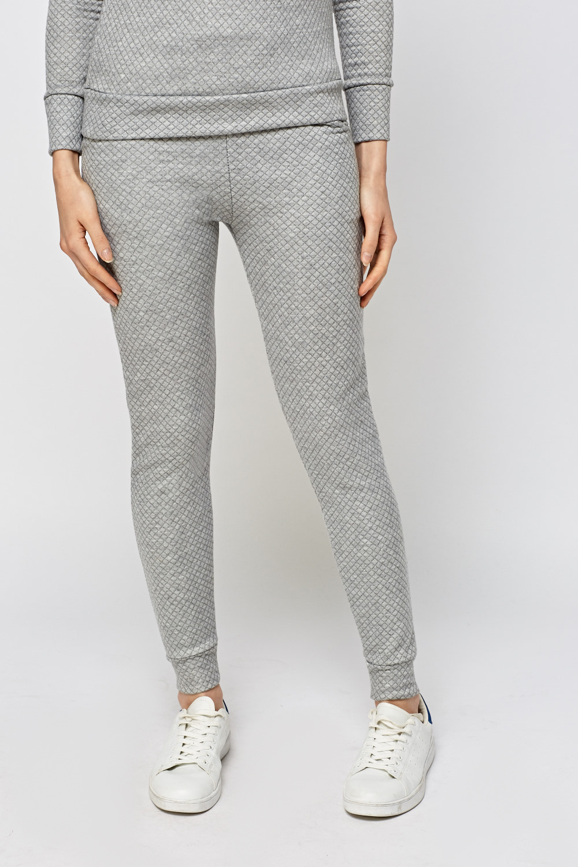 Textured Slim Leg Jogger Pants Just 163 5