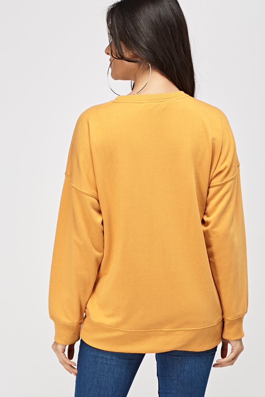 Oversized Mustard Sweater - Just £5